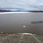 The Local Ice From Near The Mouth Of The Aniak Is Gone - But The Main River Still Hasn't Budged
