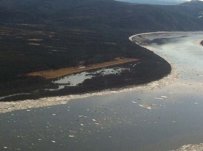 Napaimute's runway.  River Watch photo.