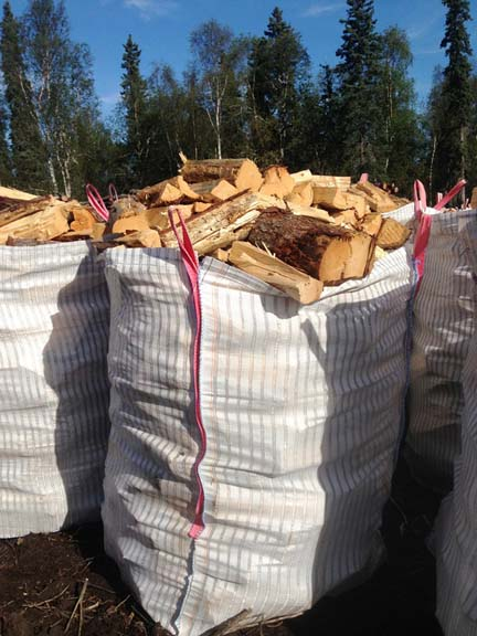 250 – ½ cord bags of split spruce & birch