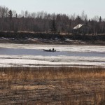 The Boats Are Out In Aniak - The Slough Is Opening Up!