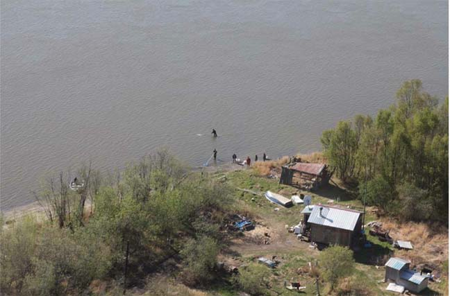 Smelters fishing in Lower Kalskag.