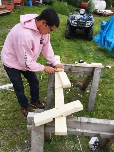 BUILDING A NEW CROSS