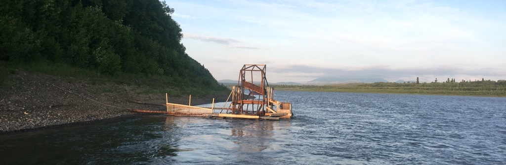 Napaimute's fish wheel starts turning on June 12th