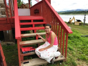 SUMMER BUILDING MAINTENANCE: Audrey Leary