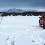 Ice Road Marking Between Chuathbaluk & Napaimute Completed